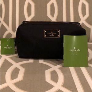 NEW Kate Spade Medium David Blake Ave Cosmetic Bag